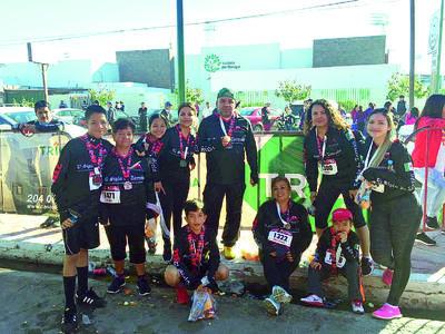 22022018 Participan en la 21-5K de El Siglo de Torreón.