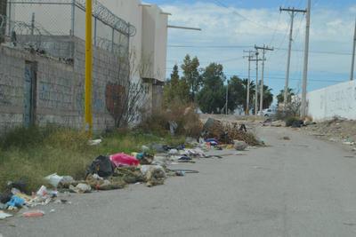 Poca vigilancia. En la colonia Arboledas los vecinos exigen mayor vigilancia para evitar que se deje más basura.