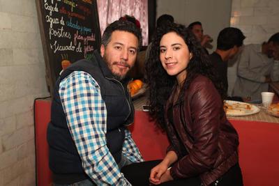 Edson y Oriana.