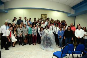23022018 CIERRE DE ROBOT.  Alumnos de la Preparatoria La Salle Torreón llevó a cabo el pasado martes la ceremonia de Cierre de Robot, el cual participará el próximo mes de marzo en el concurso de Robótica FIRST Laguna Regional.