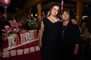 24022018 FIESTA DE CANASTILLA.  Miriam Corral y Lillian Izaguirre de C.