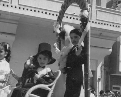 25022018 Ileana Salas Mora y Ricardo Valdez Mora, en 1976.