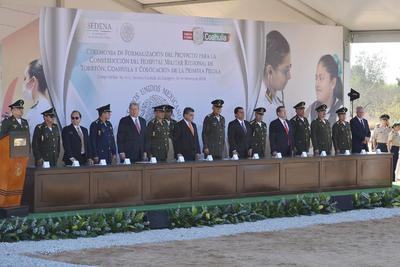 Personal del Ejército Mexicano será el encargado de la construcción.