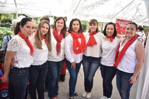 28022018 Cristina, Sandra, Cristina, Irma, Elena, Malena y Marisela.