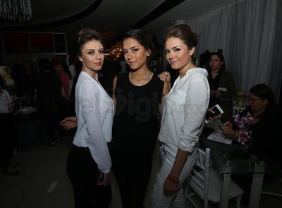 Sofía, Azul y Andrea.