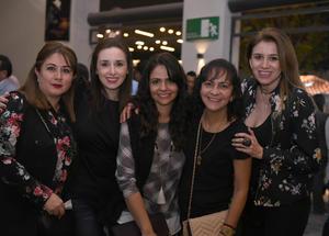 22022018 Mónica, María Luisa, Any, Diana y Lorena.