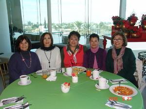 22022018 AMIGAS.  Pilar, Coquis, Blanca, Norma y Lety.