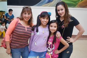 22022018 Mónica, Bárbara, Emilia y Myriam.