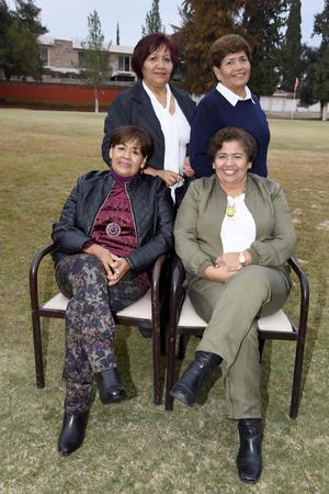 01032018 EN REUNIóN.  Magda, Gloria, Mary y Sanjuis.