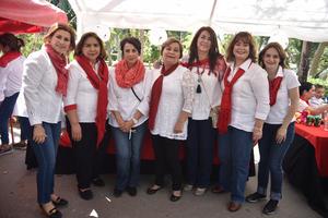 02032018 Carmelita, Marielena, Gris, Mercedes, José, Lupita y Angélica.