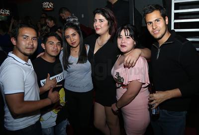 Marco, Hugo, Rocío, Jessica y Luis.