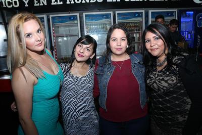 Zaira, Yazz, Yareli y Jaqui.