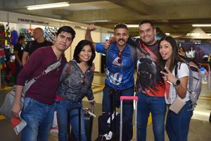 03032018 Fernando, Anabel, Roberto, Ernesto y Patricia, desde la CDMX.