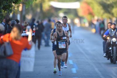 Daniel Ortiz comandó el Maratón tras la descalificación del regiomontano Jorge Hernández.