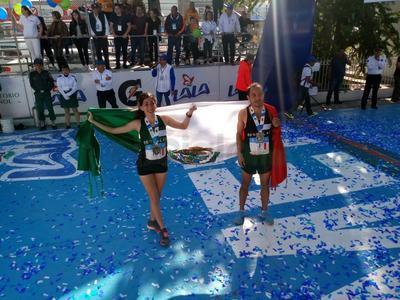 Daniel Ortiz e Isabel Vélez lo vuelven a hacer en el Maratón Lala.