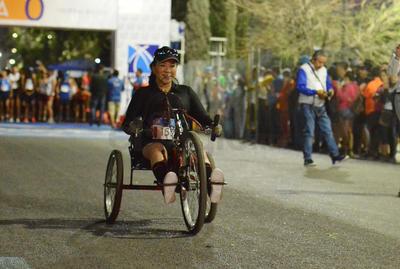 La motivación por cumplir una meta fue el motor de muchos competidores.