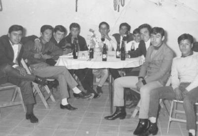 04032018 Alberto Ibarra Rodríguez con compañeros de Camionera de Torreón el 19 de diciembre de 1966.