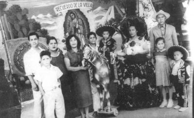 04032018 Familia Velázquez en 1956 en la Ciudad de México.