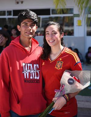 04032018 KERMéS DEL BRITáNICO.  Rodrigo y Fernanda.