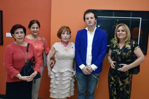 06032018 Tere, Minerva, Lidia, Hiram y Guadalupe.