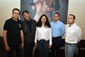 06032018 CLUB DE POESíA.  Ricardo, Gerardo, Liz, Manolo y Alberto.
