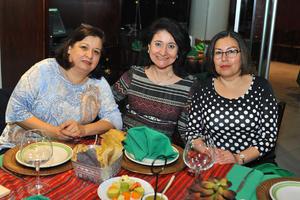 Angelina, Cristina y Maricela