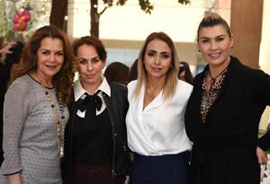 Cristina Aracely Cynthia y Nora