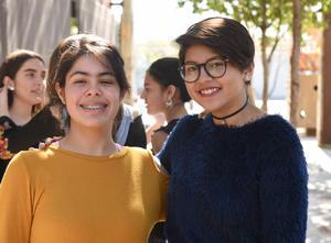 Georgina y Natalia