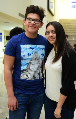 Aldo y Maria Jose