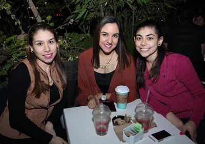 Sofía, Lizeth y Vale.