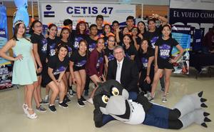 07032018 Alumnos y directivos del CETIS 47 de Gómez Palacio, Dgo.