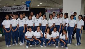 07032018 Jovencitos de la Secundaria Centenario de la Rev. Mexicana de la Col. Las Noas de Gómez Palacio.