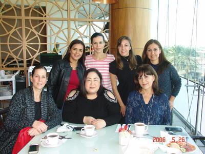 08032018 María, Paty, Abigail, Elena, Jaquie, Vivis y Charo.