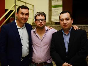 08032018 Juan Manuel Montellano, Pecky Webb, Jesús Miguel Martínez y Joel Macías.