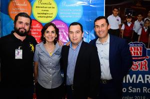 08032018 Joel Macías Ortega, David Estens y Miguel Martínez.