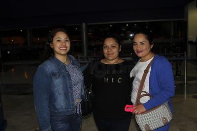 Gris, Isabel y Elena.
