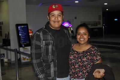 Michelle y Arturo.