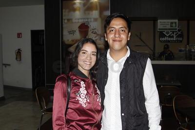 Alejandra y Luis.