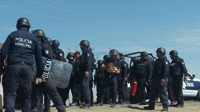 Fuerzas del orden intervinieron para atender la situación.