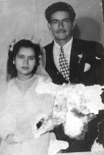 11032018 Socorro González González y Alberto Guillén García en 1930.