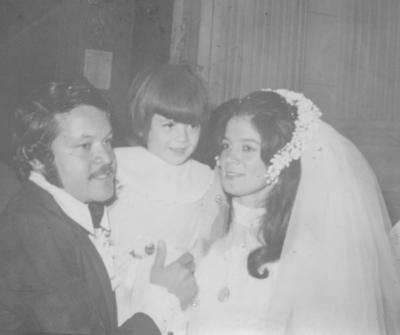 11032018 Sr. Jesús Héctor Campos y Sra. Gloria Angélica García en 1974.