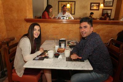 Esther Gamero y Manuel Baca.