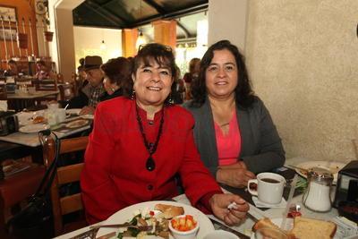 Guadalupe y Elena.