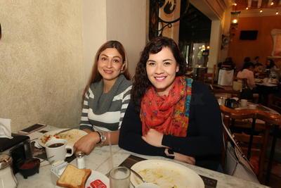 Claudia y Ale.