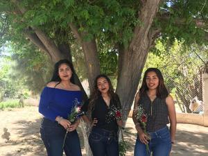 14032018 Pamela Madrid, Lupita Sánchez, Mildred Gregorio y Alejandra Camacho.