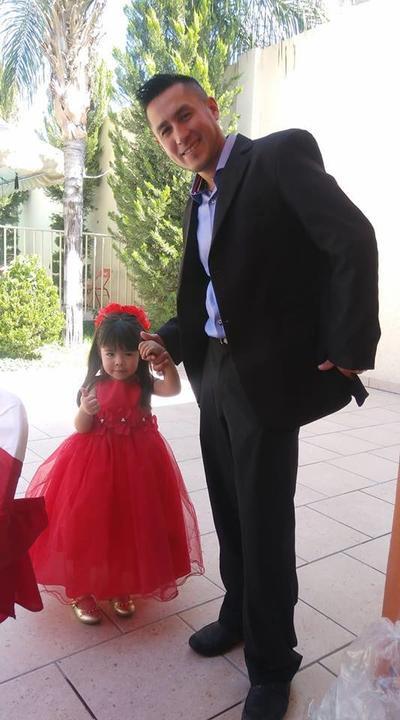 15032018 Johana con su papá Jonathan.