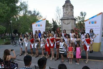 Presentación de candidatas  a Señorita Perla del Guadiana 2018