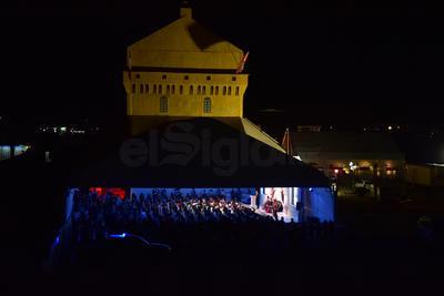 Se instaló la réplica en la Expo Feria de Torreón.