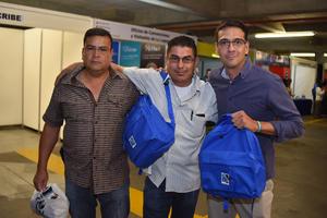 17032018 AMIGOS.  Paco, Carlos y Roberto.