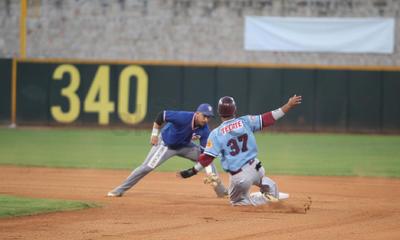 En el tercer inning, Dustin demostró de que está hecho y la barda del jardín central la superó con jonrón solitario para el 4-1.